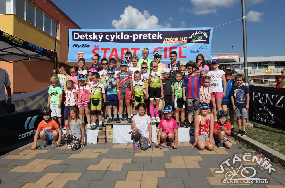 Detský Cyklo-pretek VTÁČNIK 2017