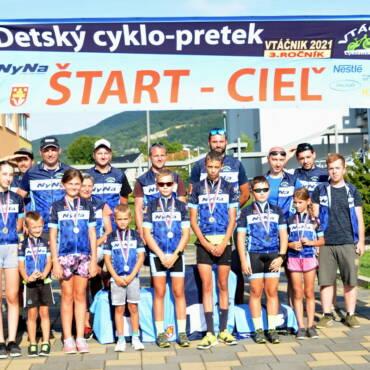 Detský Cyklo-pretek VTÁČNIK 2021