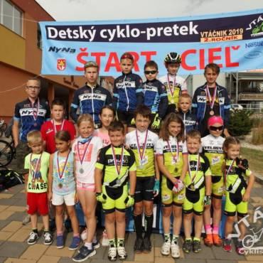 Detský Cyklo-pretek VTÁČNIK 2019